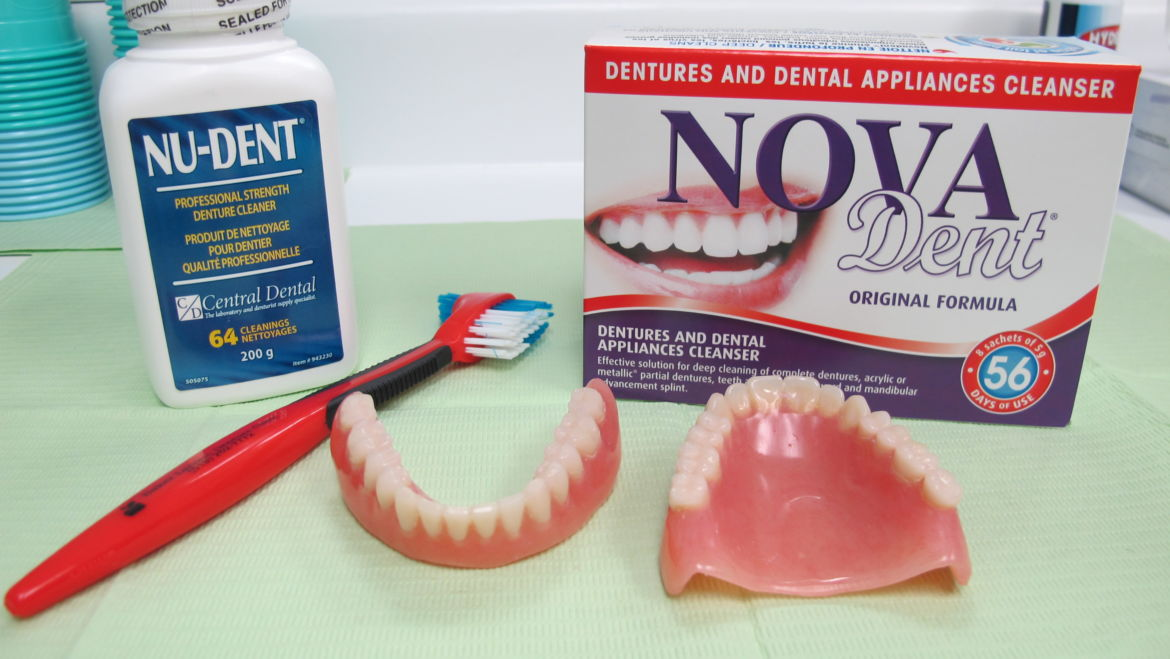 How to Care for Your New Dentures